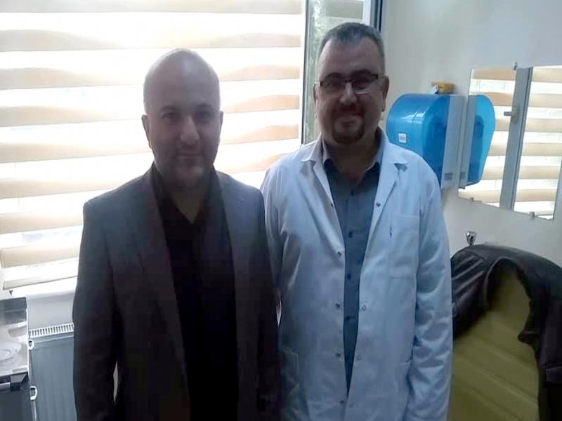 ALAPLI'DA DR. YUSUF ŞAHAN GÖREVE BAŞLADI