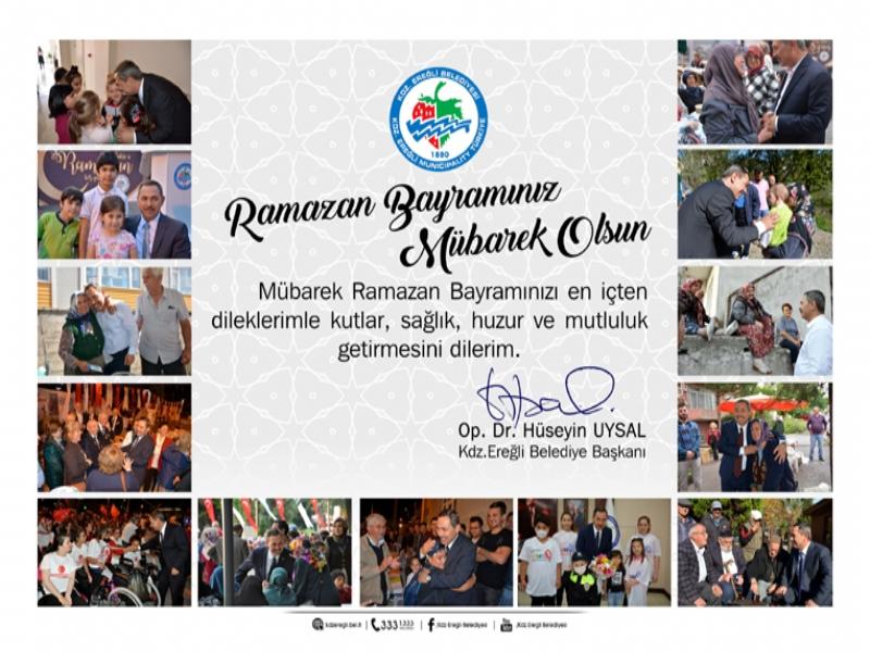 Başkan Uysal; Vatandaşlarımıza soframızı ve gönlümüzü açtık