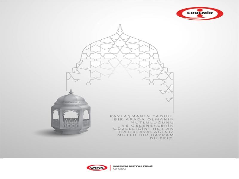 Erdemir, Ramazan Bayramını Kutladı