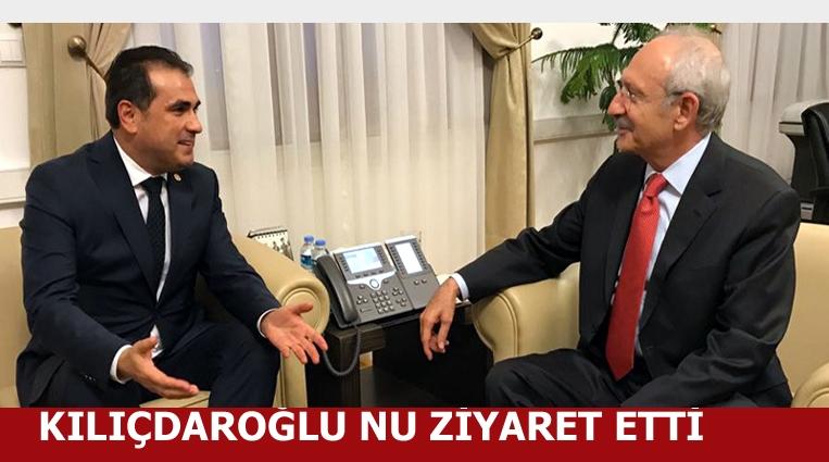 CHP LİDERİ KILIÇDAROĞLU'NU ZİYARET ETTİ.