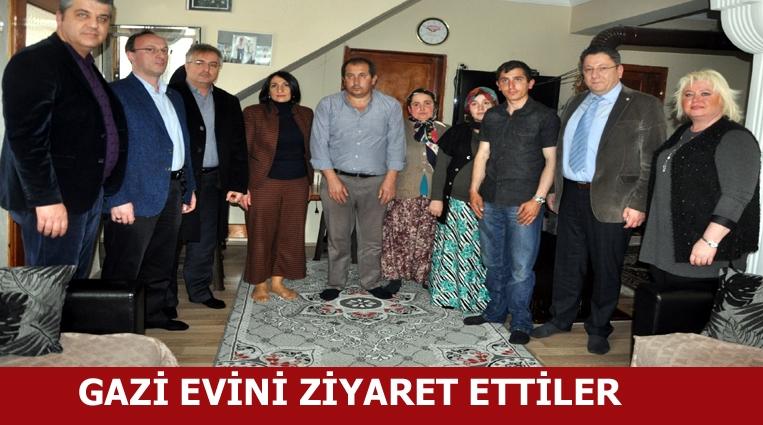 Ereğli TSO Yönetiminden Gazi Evine Ziyaret