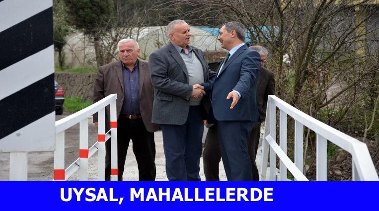 BAŞKAN UYSAL,BÖLÜCEK, HAMZAFAKILI VE TOPÇALI'DA..