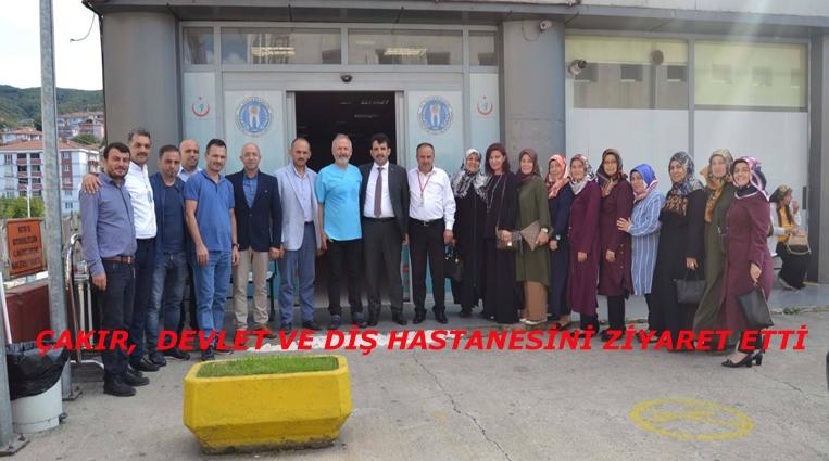 ÇAKIR,  TUNCER VE TÜRKELİ'Nİ ZİYARET ETTİ