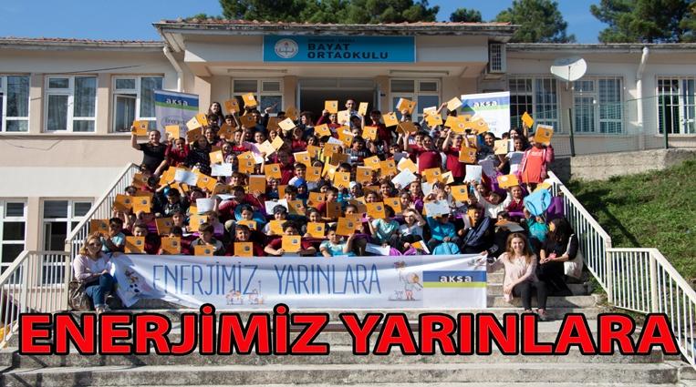 """""""ENERJİMİZ YARINLARA"""" projesi  Zonguldak'taki öğrencilerle buluştu"""