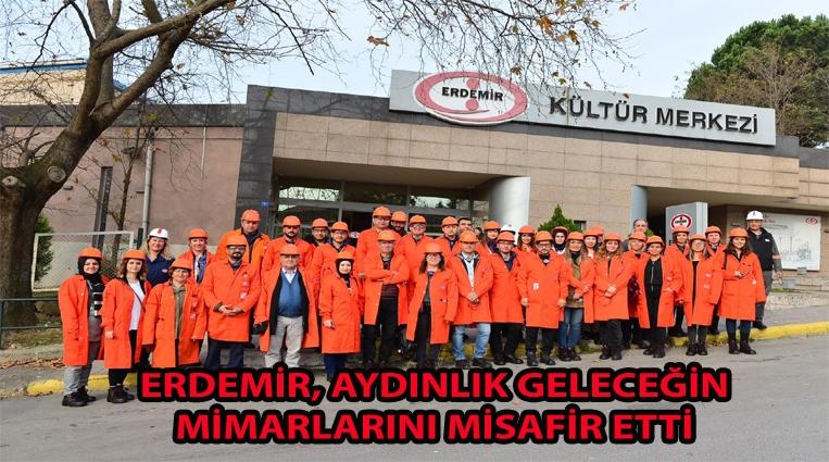 AYDINLIK GELECEĞİMİZİN MİMARLARI ERDEMİR'DEYDİ...
