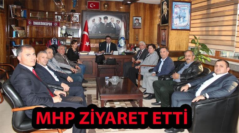 MHP'DEN GMİS'E 73. YIL ZİYARETİ.