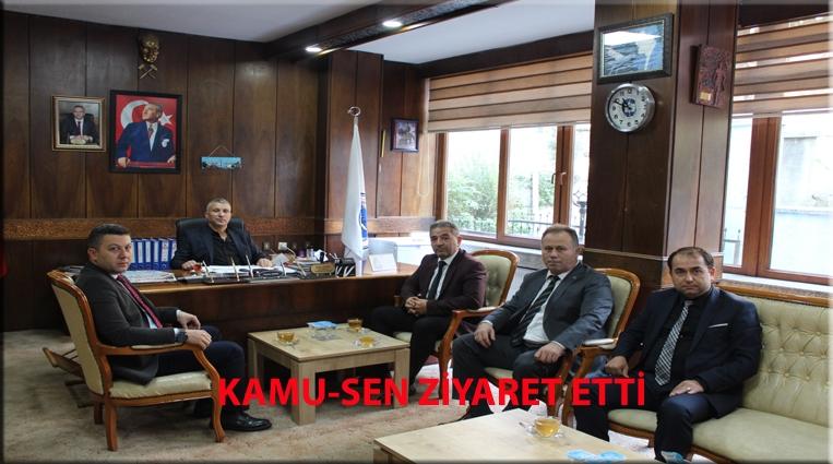 KAMU-SEN'DEN GMİS'İ ZİYARET