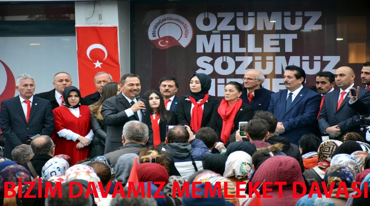 """""""BİZİM DAVAMIZ MEMLEKET DAVASI"""