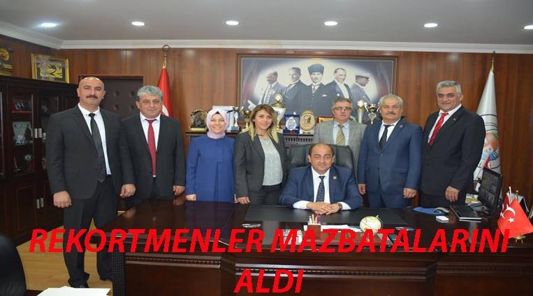 REKORTMENLER MAZBATALARINI ALDI