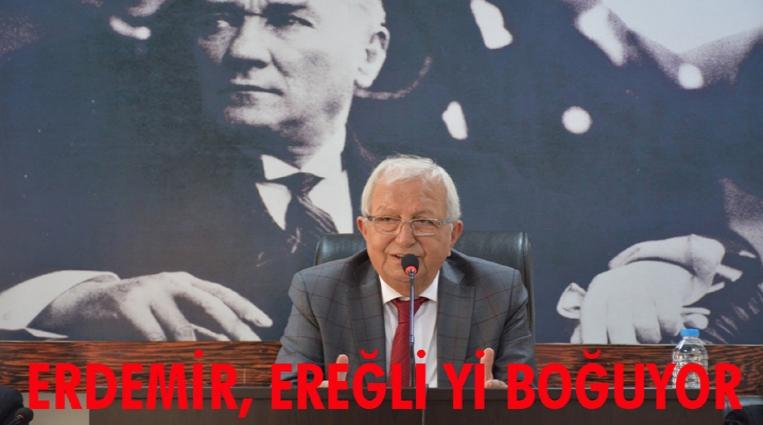 """POSBIYIK;  """"ERDEMİR, EREĞLİ'Yİ BOĞUYOR"""""""