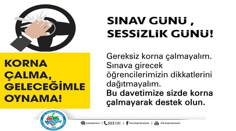 HAFTA SONU SINAV VAR, SESSİZLİK LÜTFEN!