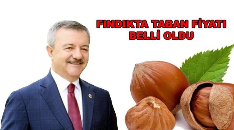 MÜJDE, FINDIKTA TABAN FİYAT BELLİ OLDU.