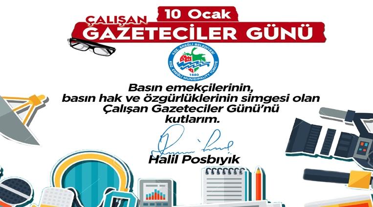 POSBIYIK, GAZETECİLER GÜNÜ'NÜ KUTLADI..