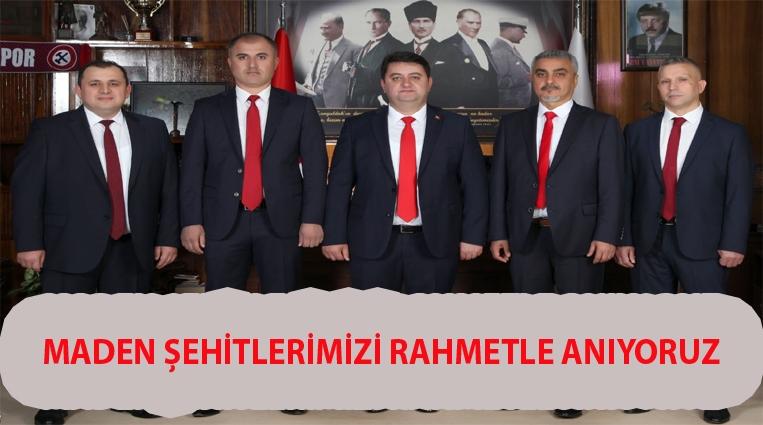 """""""7 OCAK KOZLU MADEN ŞEHİTLERİMİZİ RAHMETLE ANIYORUZ"""""""