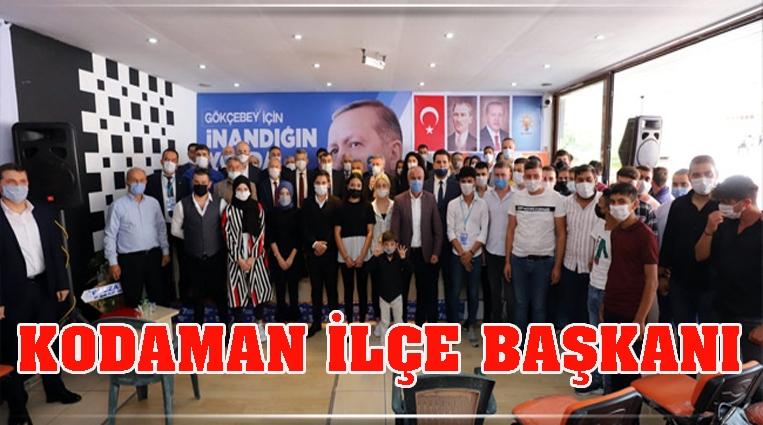 AK PARTİ GÖKÇEBEY İLÇE BAŞKANI ERKAN SONER KODAMAN...
