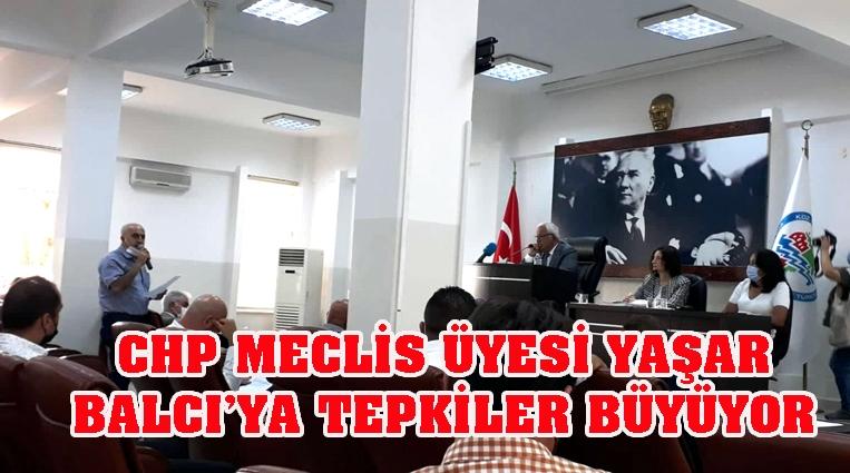 CHP MECLİS ÜYESİ YAŞAR BALCI'YA TEPKİLER ÇİĞ GİBİ BÜYÜYOR!.