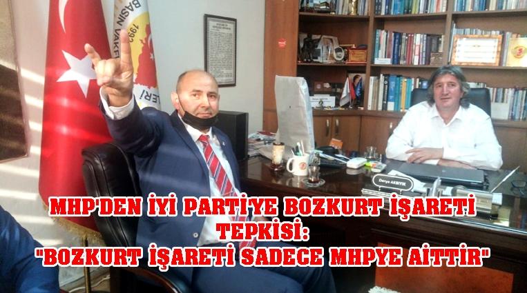 MHP'DEN BOZKURT TEPKİSİ,