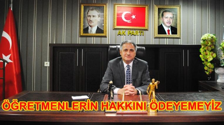 """BOZKURT: """"HAKLARINI ÖDEYEMEYİZ"""""""
