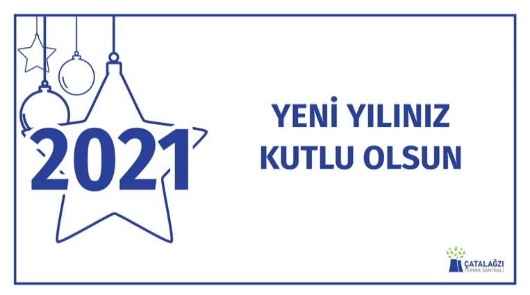 CATES YENİ YILI KUTLADI