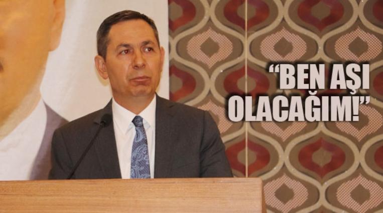 UYSAL, AŞI'NIN ÖNEMİNE DİKKAT ÇEKTİ