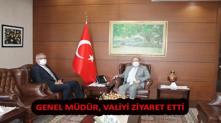 ERDEMİR'DEN ZONGULDAK VALİLİĞİ'NE ZİYARET