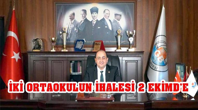 İKİ ORTAOKULUN İHALESİ 2 EKİM'DE