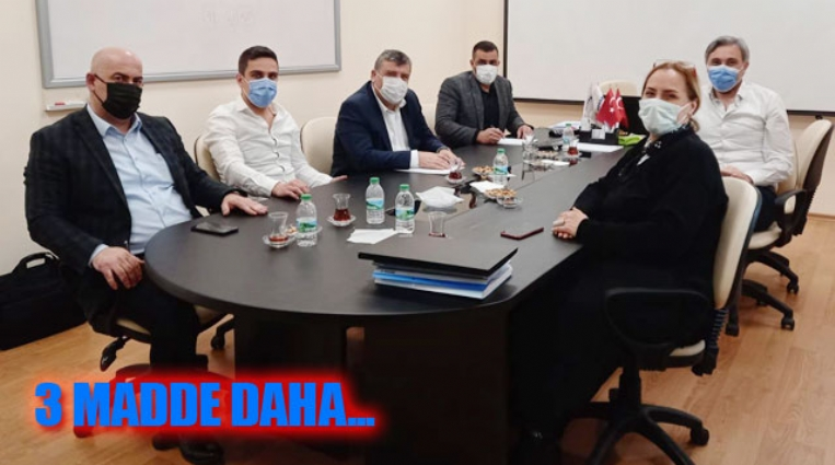 GERSAN ELEKTRİK'TE  5. OTURUM TAMAMLANDI