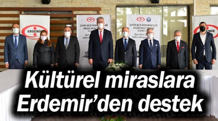 EREĞLİ'NİN KÜLTÜREL MİRASLARINA ERDEMİR'DEN DESTEK