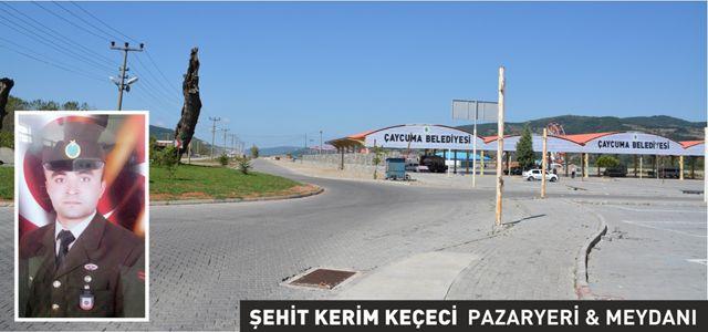 ÇAYCUMA'DA ŞEHİT VE GAZİLERE VEFA